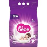 Detergent rufe copii Teo Bebe Cotton Soft Purple compact lavender automat 40spalari 3kg